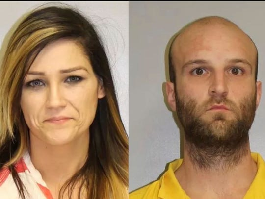 Brittany Higgins and Brian Bennett. Both are charged