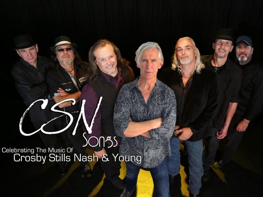 The seven-member CSN Songs recreates the music of Crosby, Stills, Nash & Young.