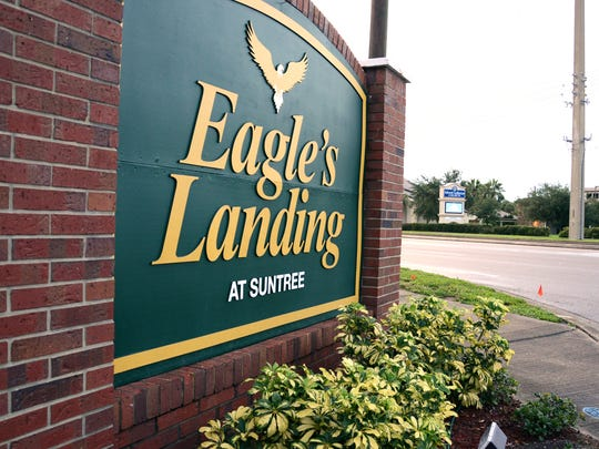 Though it seems likely that the name of the Eagle's Landing townhouse development in Suntree is an allusion to the Apollo program, its namesake isn't quite so clear.