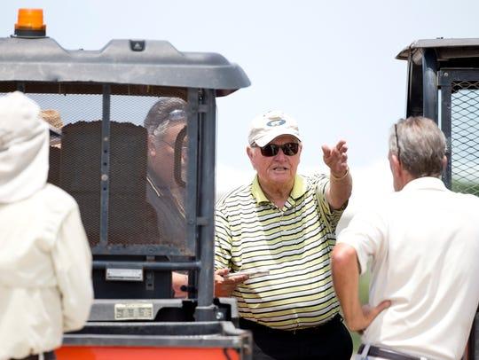 Legendary golfer and top course designer Jack Nicklaus