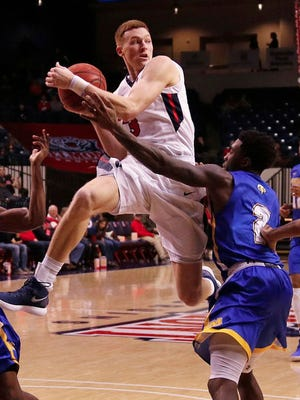 Dylan Windler staged one of the greatest performances - 36 points, 20 rebounds - in Belmont history last Saturday against Morehead State at Curb Event Center.