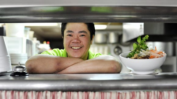 Chef Huy Tran, of Mekong in Greenville.