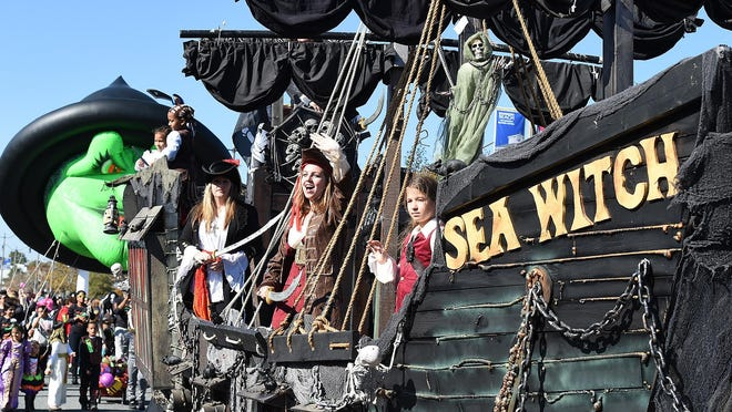 The Sea Witch Festival in Rehoboth Beach is an annual fall event which brings hundreds to the beach.