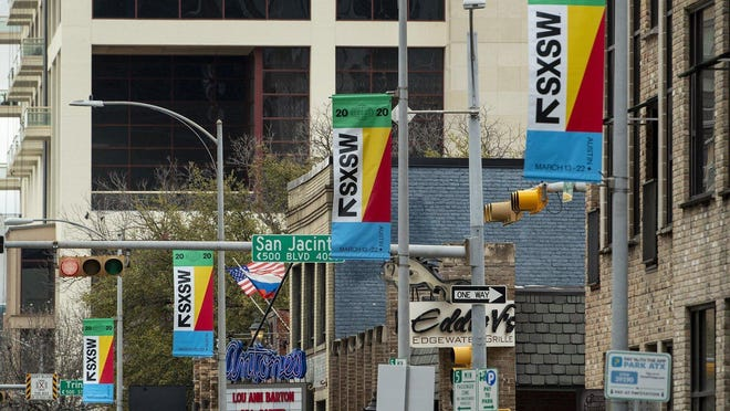 AUSTIN, Texas -- Coronavirus fears prompted officials to cancel the iconic South by Southwest festival just seven days before the 2020 event was scheduled to start.