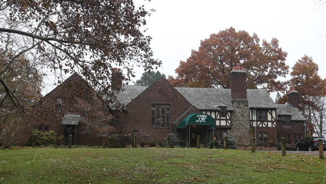 The Tudor House is on Turkeyfoot Lake in New Franklin.