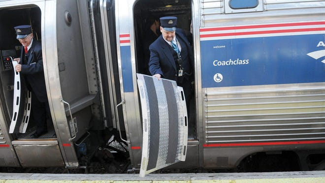 The Amtrak Downaster makes stops in Exeter, Dover, Durham and other locations on the Seacoast.