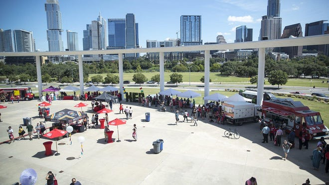 """The Long Center terrace and lawn will be the site of an """"Empty Event"""" from 4 p.m. to 10 p.m. Friday designed to call attention to the live event industry's hardships during the coronavirus pandemic."""