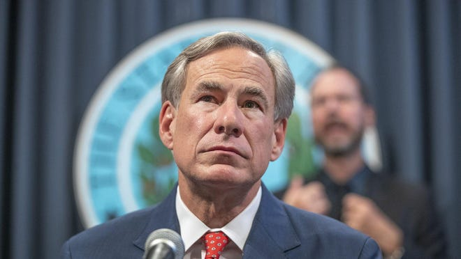 Amid soaring coronavirus case numbers statewide, Gov. Greg Abbott touted a new COVID-19 treatment Thursday at a Lubbock news conference. He said the state would not shut down businesses again to curtail the spread of the virus.