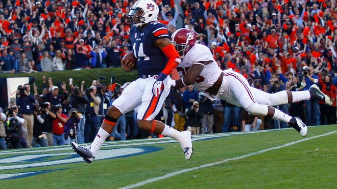 Auburn quarterback Nick Marshall aims to write another chapter in his tremendous, complicated college career.