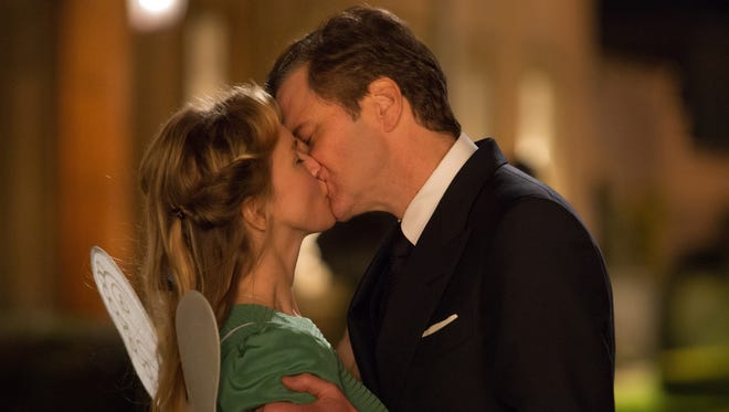 "There is still passion between Mark Darcy (Colin Firth) and Bridget Jones (Renée Zellweger) in ""Bridget Jones's Baby."""