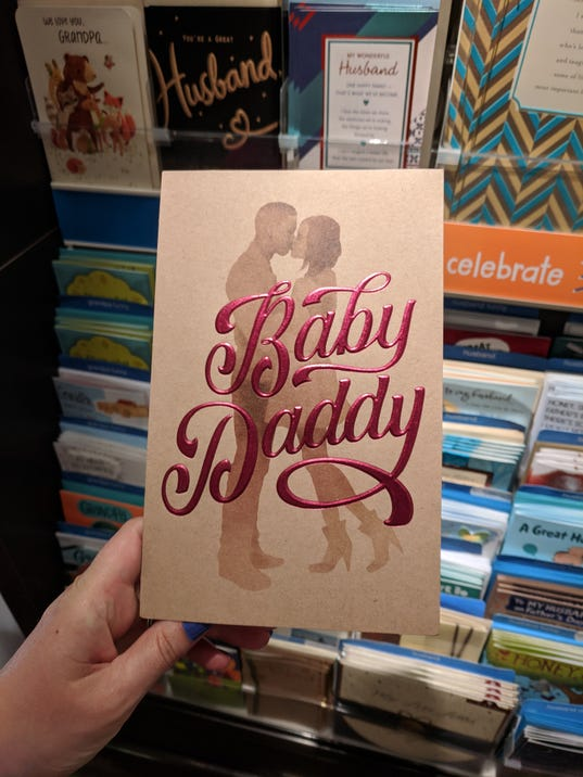 American greetings sorry for baby daddy card sold at target others 636645662604738907 american greetings card frontg m4hsunfo