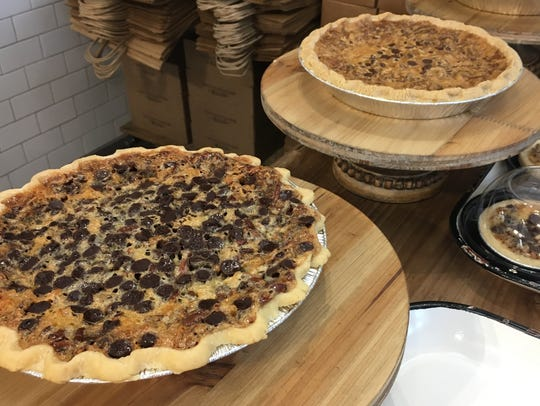 Buttermilk Sky Pie Shop offers 9-inch and 4-inch pies.