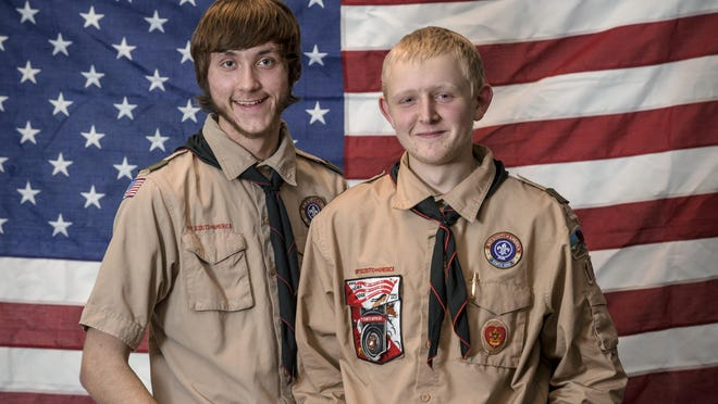 Steven Stamper and Ryan Rose went through every level of Boy Scouts together, including becoming Eagle Scouts together.