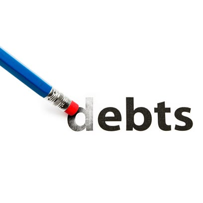 For the most part, your debt dies with you, but that
