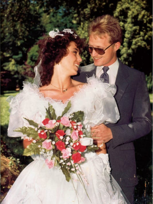 Birgit and Jeremy Kimmel were married on July 13, 1990, a Friday, 25 years ago.