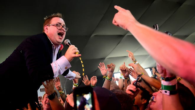 Paul Janeway will perform with St. Paul and the Broken Bones at the inaugural Holler on the Hill festival.