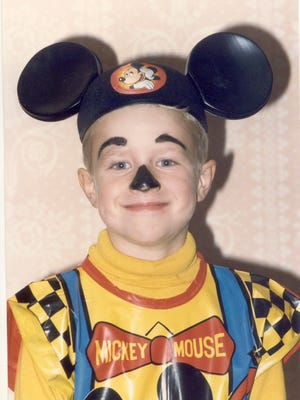 Pop Candy reader Turner W. in Durham, N.C., sent this pic of himself as Mickey Mouse, circa 1990.