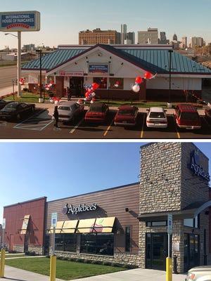 The world's first combination IHOP/Applebee's will open in Detroit.