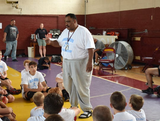 Fishburne Military School Wrestling Coach Terry Waters