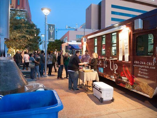 Scottsdale Food Truck Spice It Up Joins Food Network Show