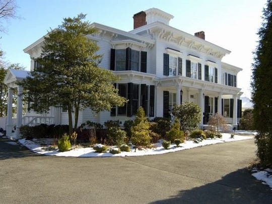 """""""Pretty Penny,"""" the former Nyack home of actress Helen Hayes and her husband, playwright Charles MacArthur."""