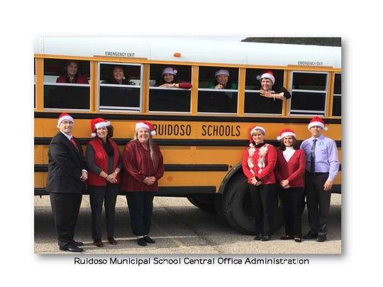 Merry Christmas from the Ruidoso Muncipal School Disztrict