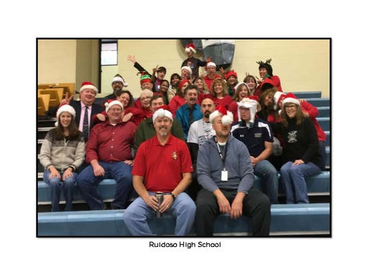 Merry Christmas from Ruidoso High School.