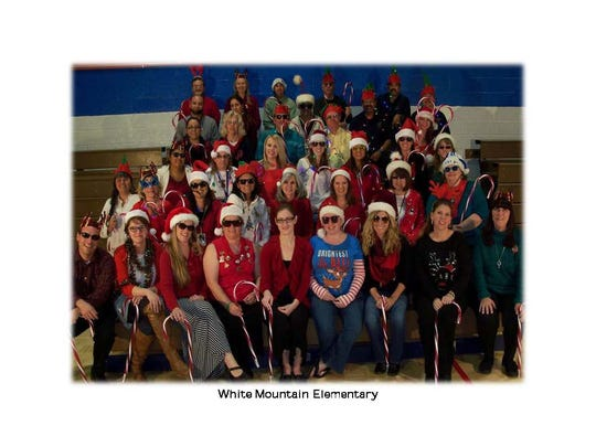 Merry Christnas from White Mountain Elementary School.