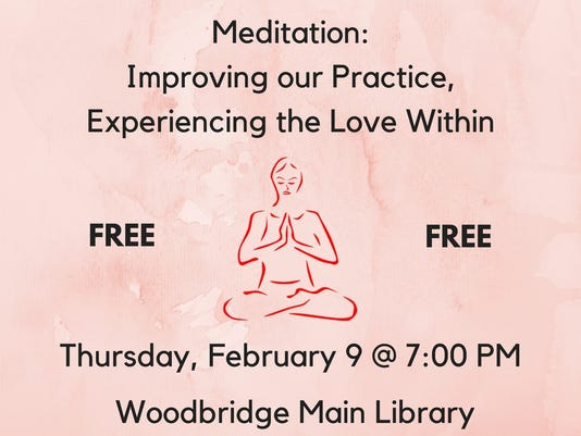 ​Heartbeats: Program on meditation on Feb. 9 PHOTO CAPTION
