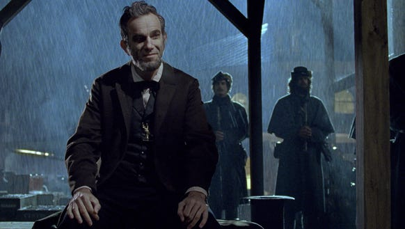 Daniel Day-Lewis stars as President Abraham Lincoln