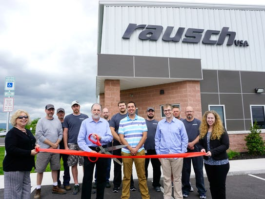 Rausch Electronics celebrated the opening May 21 of