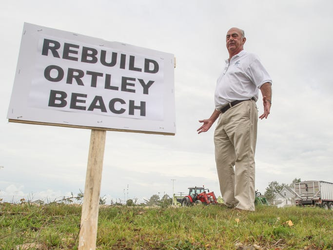 OrtleyBeach,  NJ      Some Ortley Beach residents including Mike Wymbs, want this 6 acre property owned by the OCUA converted into a park.  It is located north of Fielder Ave, west of Washington Ave and south of 8th Ave.  081214  Tom Spader/Asbury Park Press