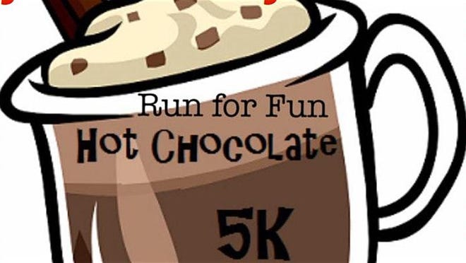 Dress in your Valentine's finery or as a favorite candy or chocolate confection for the Hot Chocolate 5K Run in Washingtonville, Feb. 2, The event benefits Samaritans, a suicide prevention and crisis resource.