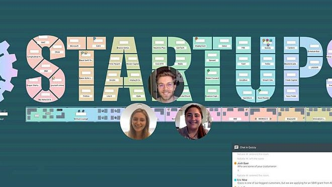 Startup Week, and its annual Startup Crawl, take on a virtual look amid the pandemic. For the crawl, dozens of startups will host booths in virtual rooms in a custom-made virtual trade show map.