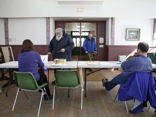 Town Meeting Day voting in Hinesburg takes place from 7 a.m. to 7 p.m. today at Town Hall.