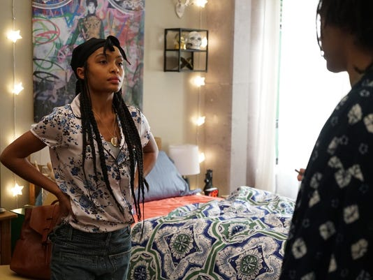 'grown-ish' a different world for 'black-ish' star