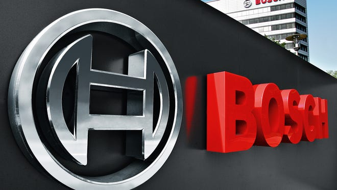 Auto supplier Bosch has agreed to plead guilty and pay a $57.8 million fine for price fixing and bid rigging.