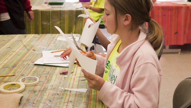 The Arts Fusion Camp engages kids in artful activities.