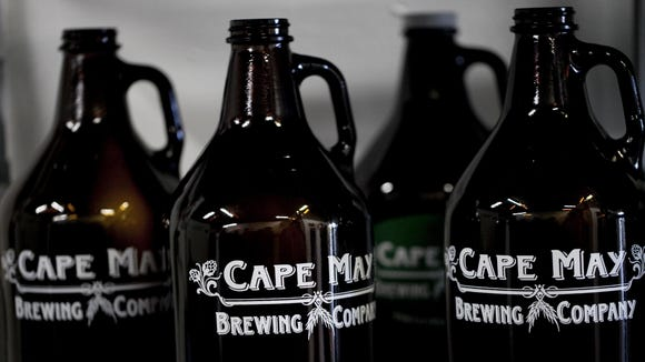 Out with the old ... you can still get that old growler filled up, but you can also buy one featuring the new logo next time you visit Cape May Brewing Company.