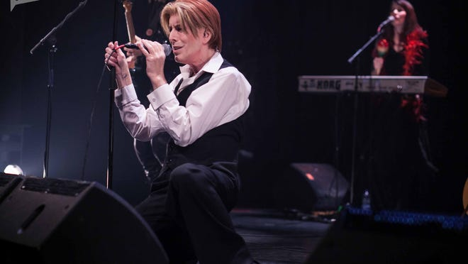 David Brighton plays guitar and will be doing it as David Bowie on Saturday, Sept. 24 at the Fox Theatre.