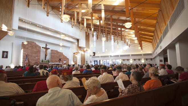 Community members attend a concert at Christ the King Catholic Church in Cedar City. A new Pew study goes beyond religious labels to look at the stories of believers and non-believers.