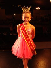 Olivia Avery after winning Pre-Teen Queen at the New York State Fair