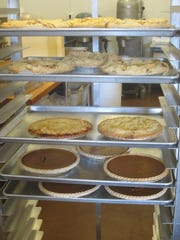 Hollenbeck's Cider Mill offers a variety of pies and baked goods along with apples and cider.