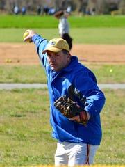 Sussex Central High School softball coach John Wells
