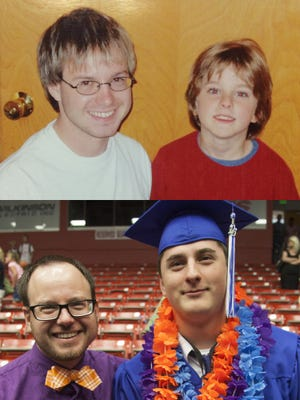 Reporter Brian Passey was matched with his Little Brother, Jeremiah, through Big Brothers Big Sisters in 2004. On Wednesday, Jeremiah graduated from Dixie High School in St. George, marking an end of their official match through the program.