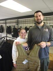 6 Tacticality Workwear owners Lisa and John Chapman