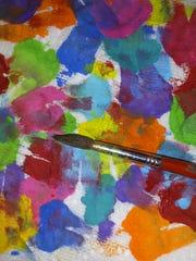 Art paintbrush.