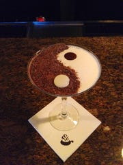 The Yin & Yang martini at the Melting Pot.