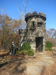 This shows the Women's Federation Monument on the Palisades