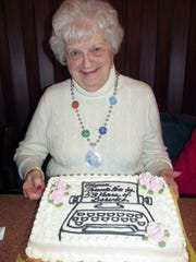 Mona Zipay celebrated her last day Dec. 29, 2017, at
